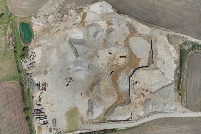 Quarry Aerial Map